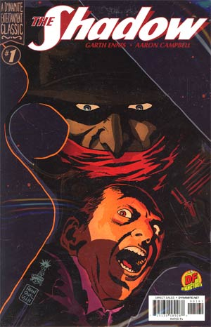 Shadow Vol 5 #1 DF Exclusive Francesco Francavilla Variant Cover