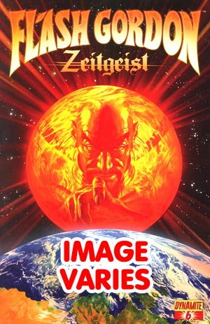 DO NOT USE Flash Gordon Zeitgeist #6 Regular Cover (Filled Randomly With 1 Of 3 Covers)