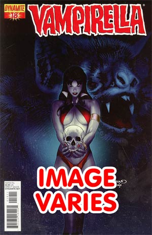 Vampirella Vol 4 #18 Regular Cover (Filled Randomly With 1 Of 4 Covers)