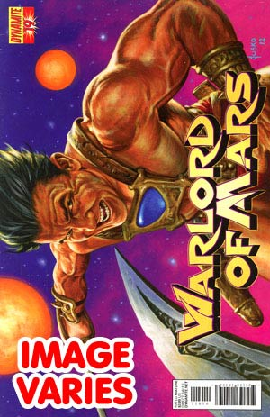 DO NOT USE (DUPLICATE LISTING) Warlord Of Mars #19 Regular Cover (Filled Randomly With 1 Of 2 Covers)