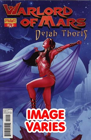 DO NOT USE Warlord Of Mars Dejah Thoris #14 Regular Cover (Filled Randomly With 1 Of 2 Covers)