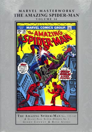 Marvel Masterworks Amazing Spider-Man Vol 14 HC Regular Dust Jacket