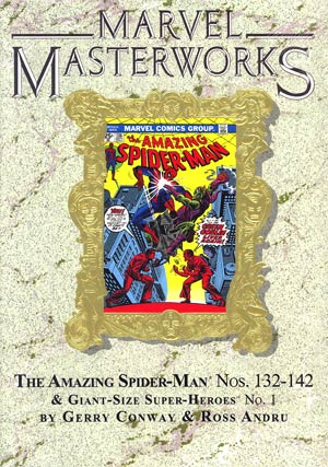 Marvel Masterworks Amazing Spider-Man Vol 14 HC Variant Dust Jacket
