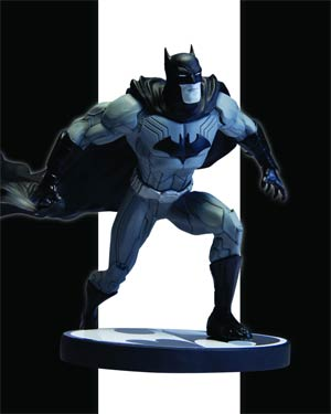 Batman Black & White Series Original Mini Statue By Jim Lee The New 52 Version
