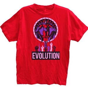 Magneto Rise Above Red T-Shirt Large
