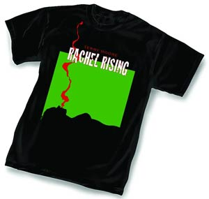 Rachel Rising Smoke By Terry Moore Black T-Shirt Large
