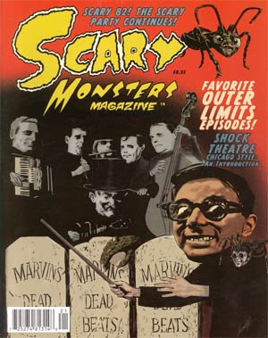 Scary Monsters Magazine #82 Apr 2012