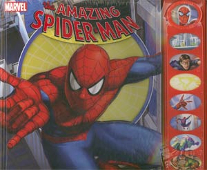 Amazing Spider-Man 8-Button Play-A-Sound HC