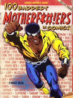100 Baddest Mother F****ers In Comics SC