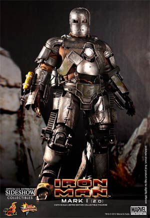 Iron Man Mark I 2.0 12-Inch Action Figure
