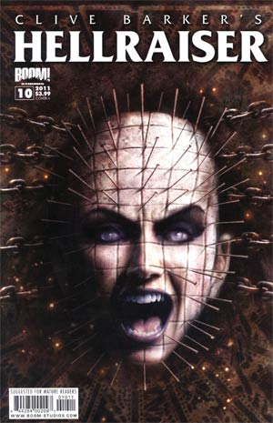 Clive Barkers Hellraiser Vol 2 #10 Regular Cover A