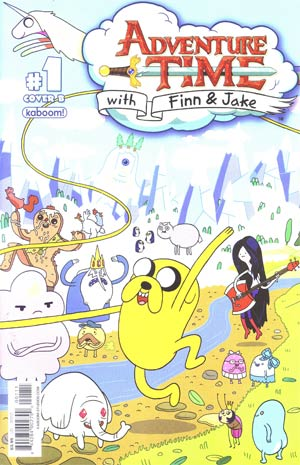 Adventure Time #1 1st Ptg Regular Cover B