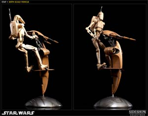 Star Wars S.T.A.P. And Battle Droid 13-Inch Action Figure Set