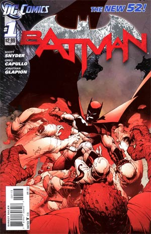 Batman Vol 2 #1 3rd Ptg