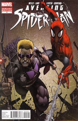 Avenging Spider-Man #4 Incentive Dale Keown Variant Cover
