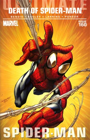 Ultimate Comics Spider-Man #160 1st Ptg Regular Mark Bagley Cover Without Polybag (Death Of Spider-Man Tie-In)