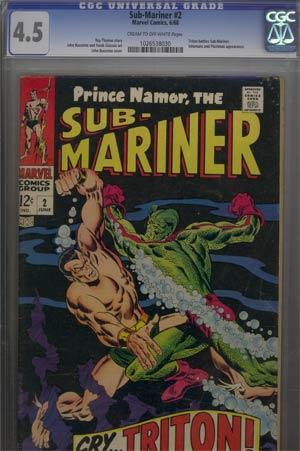 Sub-Mariner #2 CGC 4.5