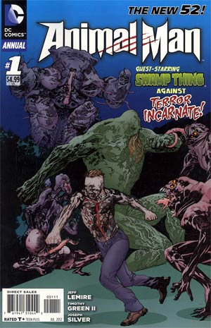 Animal Man Vol 2 Annual #1