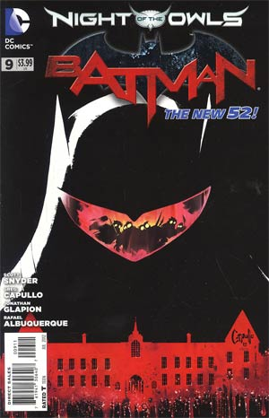 Batman Vol 2 #9 Regular Greg Capullo Cover (Night Of The Owls Tie-In)
