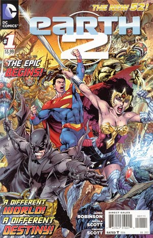 Earth 2 #1 1st Ptg Regular Ivan Reis Cover