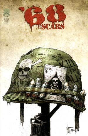 68 Scars #2 Cover A Nat Jones Cover