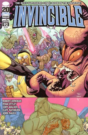 Invincible #92 Cover A 1st Ptg