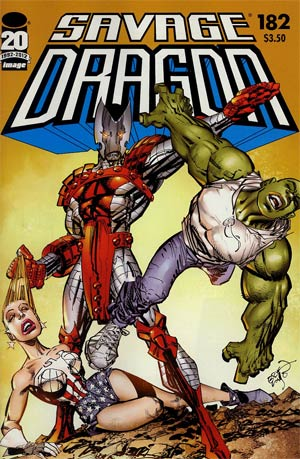 Savage Dragon Vol 2 #182