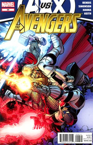 Avengers Vol 4 #26 (Avengers vs X-Men Tie-In)