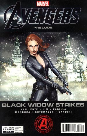 Avengers Black Widow Strikes #2