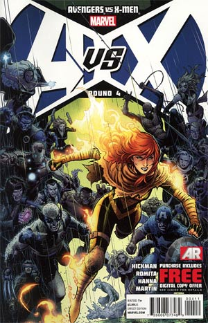 Avengers vs X-Men #4 1st Ptg Regular Jim Cheung Cover