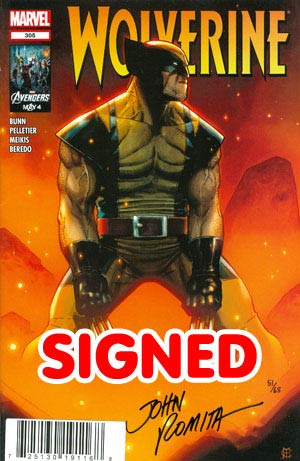 Wolverine Vol 4 #305 DF Signed By John Romita Sr