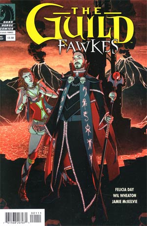 Guild Fawkes One Shot Regular Paul Duffield Cover
