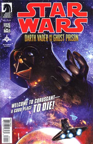 Star Wars Darth Vader And The Ghost Prison #1 Regular Dave Wilkins Cover