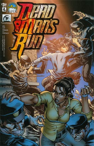 Dead Mans Run #4 Cvr B Ryan