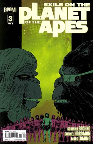 Exile On The Planet Of The Apes #3 Regular Cover B