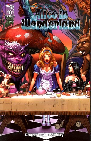 Grimm Fairy Tales Presents Alice In Wonderland #6 Cover A Anthony Spay Tri-Fold