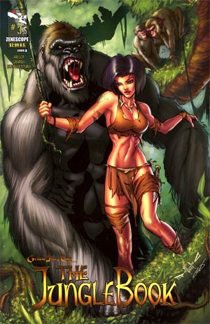 Grimm Fairy Tales Presents Jungle Book #3 Cover A Pasquale Qualano
