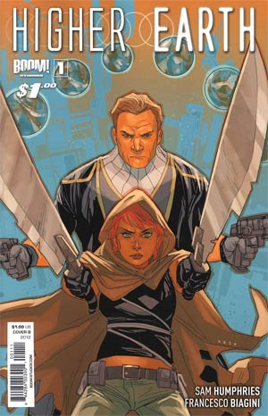 Higher Earth #1 1st Ptg Regular Cover B Phil Noto