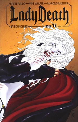 Lady Death Vol 3 #17 Wraparound Cover