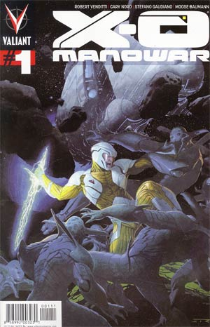 X-O Manowar Vol 3 #1 1st Ptg Regular Esad Ribic Cover