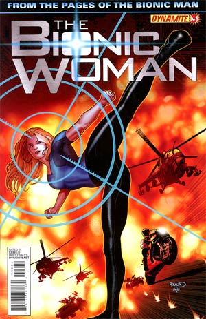 Bionic Woman Vol 2 #3 Regular Paul Renaud Cover