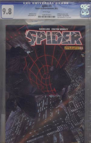 Spider #1 DF Exclusive Alex Ross Cover CGC 9.8