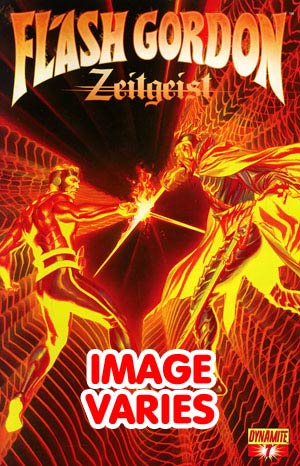 DO NOT USE Flash Gordon Zeitgeist #7 Regular Cover (Filled Randomly With 1 Of 2 Covers)