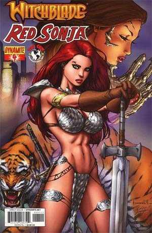 Red Sonja Witchblade #4