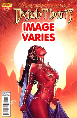 DO NOT USE Warlord Of Mars Dejah Thoris #15 Regular Cover (Filled Randomly With 1 Of 2 Covers)