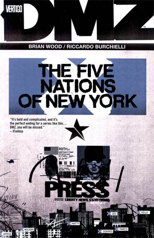 DMZ Vol 12 The Five Nations Of New York TP