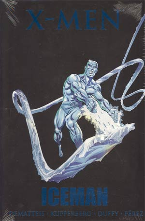 X-Men Iceman HC Premiere Edition Book Market Cover