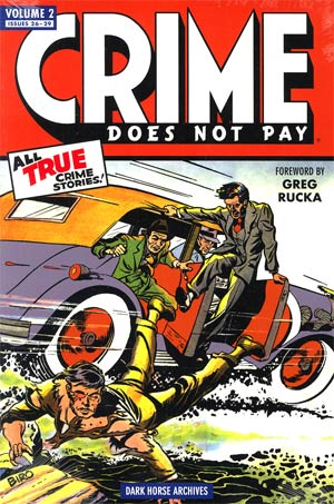 Crime Does Not Pay Archives Vol 2 HC