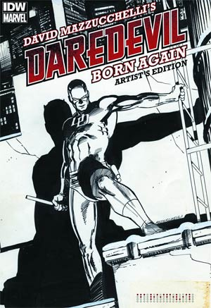 David Mazzucchellis Daredevil Born Again Artists Edition HC