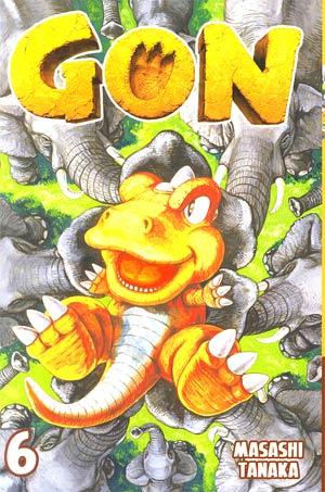 Gon Vol 6 GN Kodansha Edition